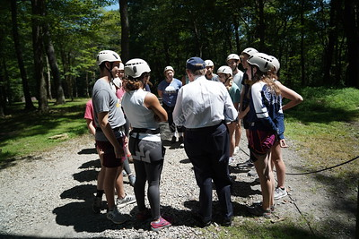 35783 Gee visits summer camps and Adventure WV