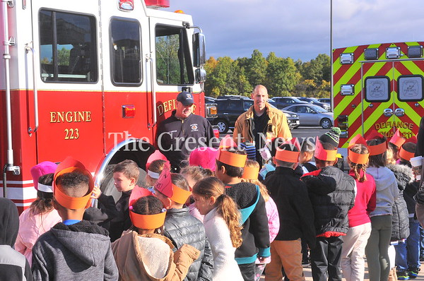 10-16-19 NEWS Fire Fighters @ Defiance Elementary