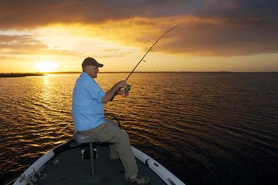 Lake Toho, largemouth bass fishing 2013