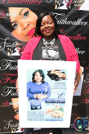 JULY 20TH, 2014: FANISHA'S CD RELEASE LUNCHEON @ BEYOND THE C