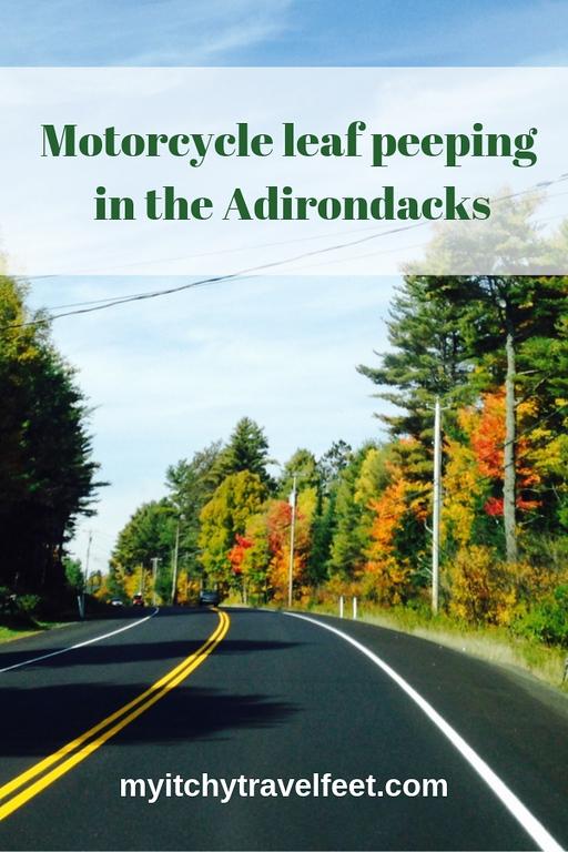 Motorcycle leaf peeping in the Adirondacks