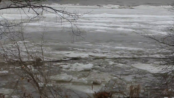 Video-Wabash River Ice Breaking  2/21/2014