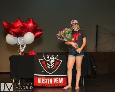 Alexis APSU Signing