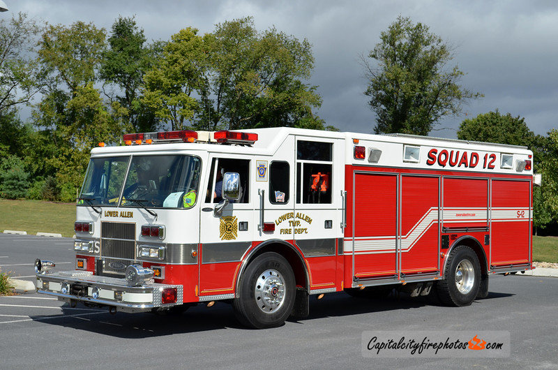 Lower Allen X-Squad 12: 1998 Pierce Saber (** sold to Ansonville FD, NC in 2014 **)