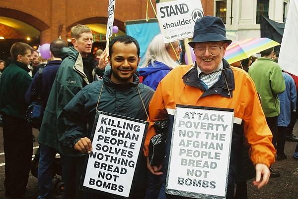 Stop the War /CND Demo Manchester - 1st November 2001