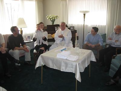 Mia's Baptism and Papa Frank's 94th Birthday Celebration 2008 February