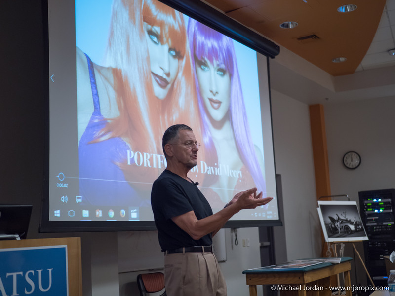 Photography from Film Days to the Days of Digital with David Mecey
