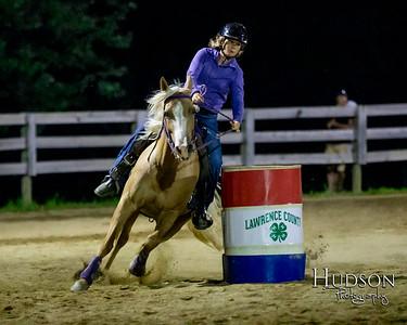 14. Clover Leaf Barrels Ponies Jr. rider