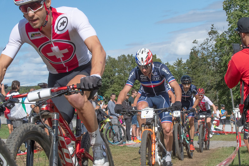 Nino Schurter (Switzerland) /  Victor Koretzky (France)