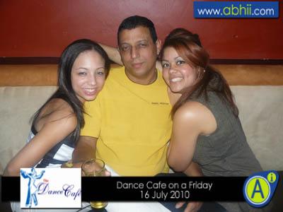 Dance Cafe Fri Night 16 July