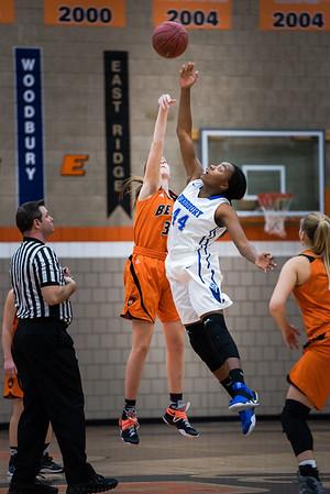 Girls Varsity Basketball -V- Woodbury Home