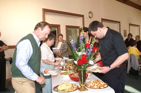Seder Meal 2007