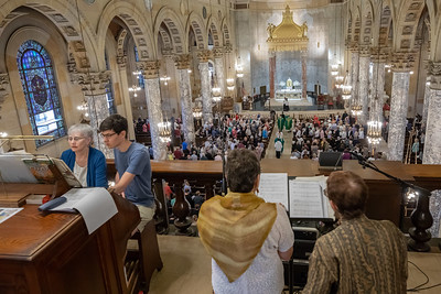 Inaugural 150th Anniversary Mass - Congregation of Notre Dame (Basilica of the Immaculate Conception)