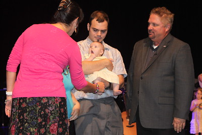 Sunday, August 9, 2015 | Baby Dedications & Service Photos