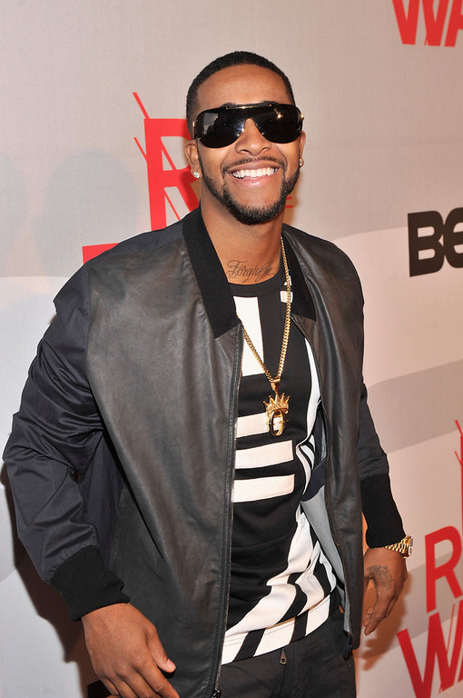 . Performer Omarion attends BET\'s Rip The Runway 2013:Red Carpet at Hammerstein Ballroom on February 27, 2013 in New York City.  (Photo by Stephen Lovekin/Getty Images for BET\'s Rip The Runway)