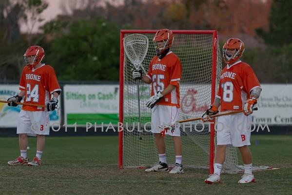 Boone Boys JV Lacrosse 2011 - #18