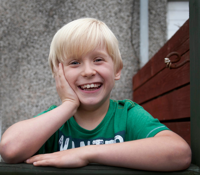 7 Year old Luke MacDonald from Condorrat stars in Irvine Welsh' film Filth.His mum Staephanie suffers from MS.