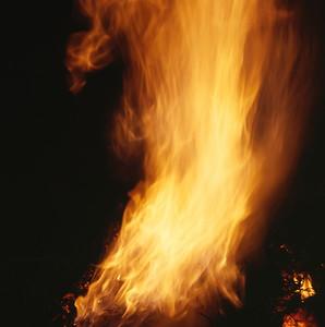 Bonfire burning bright