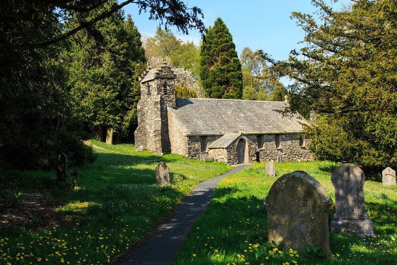 Matterdale Church, Lake District