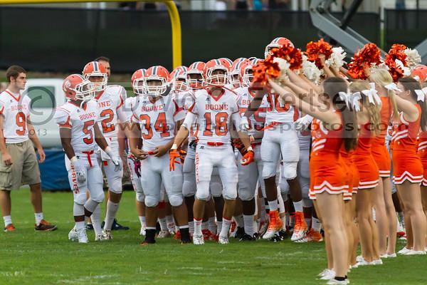 Boone Varsity Football #18 - 2013