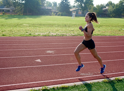 800 meter time trial and 3200 meter tempo