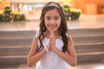 Gia's First Communion