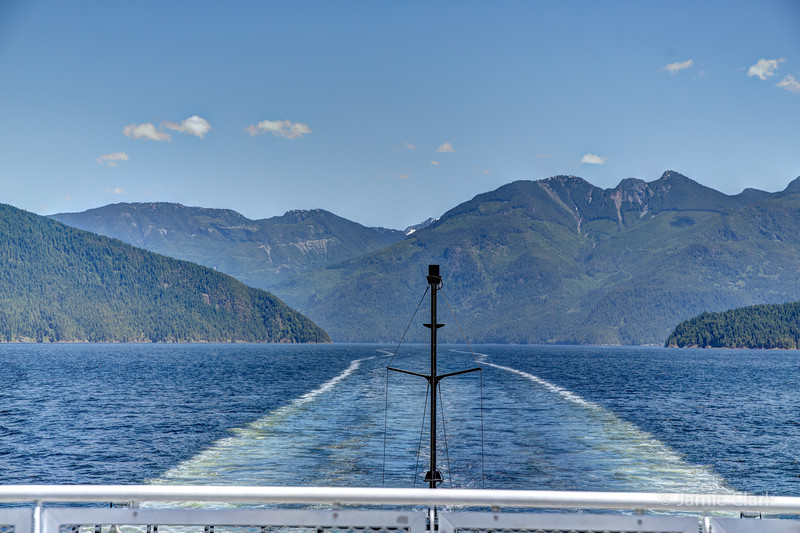Ferry to Saltery Bay, British Columbia