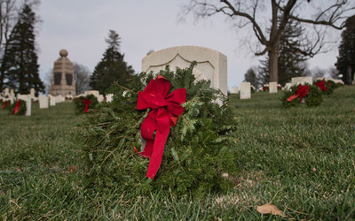 Culpeper National Cemetery, Wreaths Across America 2016
