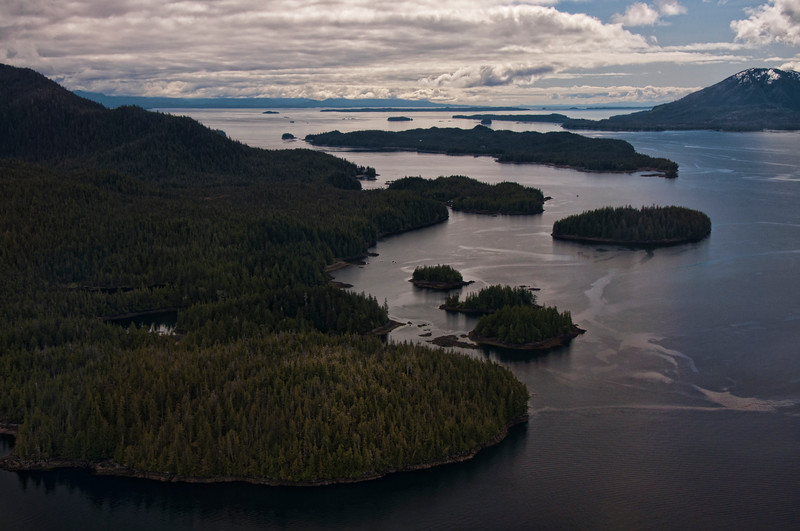 Flying out of Ketchikan into Misty Fjords National Park.  The start of a beautiful flight.