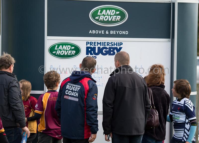 LandRover Premiership Rugby Cup Under 11s, Franklin's Gardens, 30 September 2017
