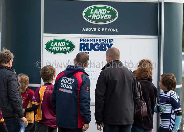 LandRover Premiership Rugby Cup Under 11s, Franklin's Gardens, 30 September 2017
