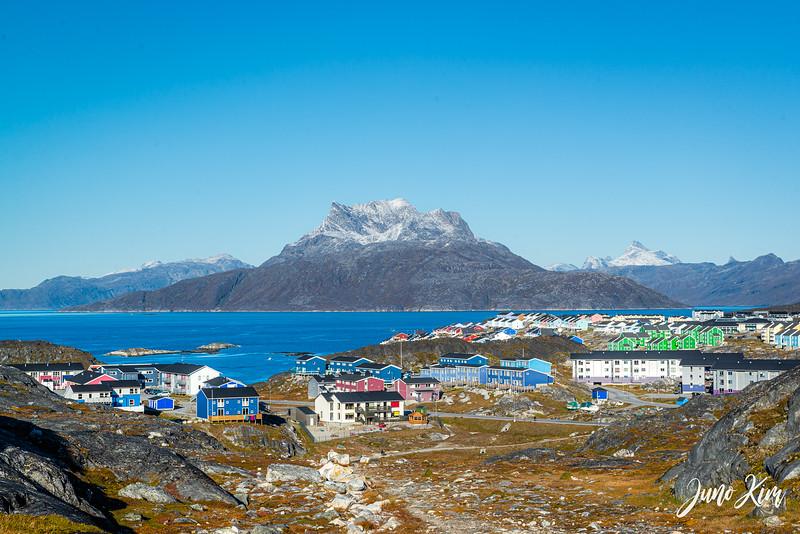 Sermitsiaq (mountain) in Nuuk