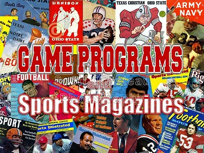 Event Programs and Magazines