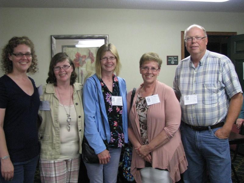 Representatives of William Long Hunter family