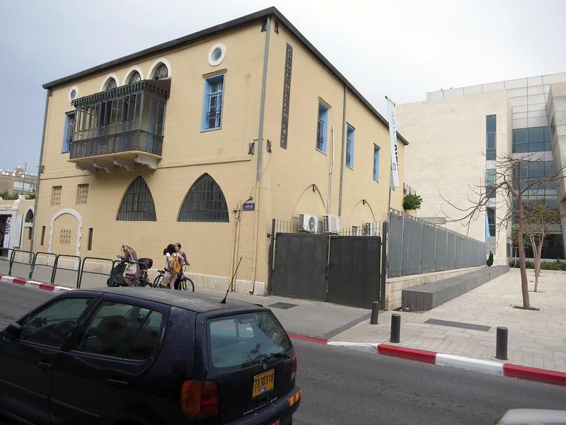 13 Aza Street; Ottoman style balcony.
