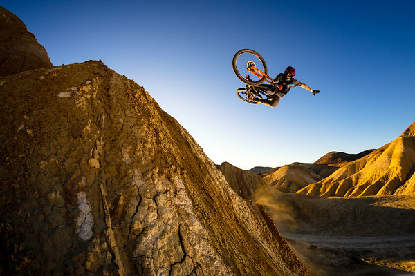 Kirt Voreis - DEITY shoot in California