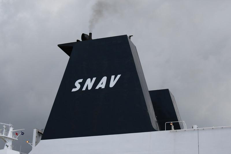 2011 - SNAV CAMPANIA in Napoli : the funnel.