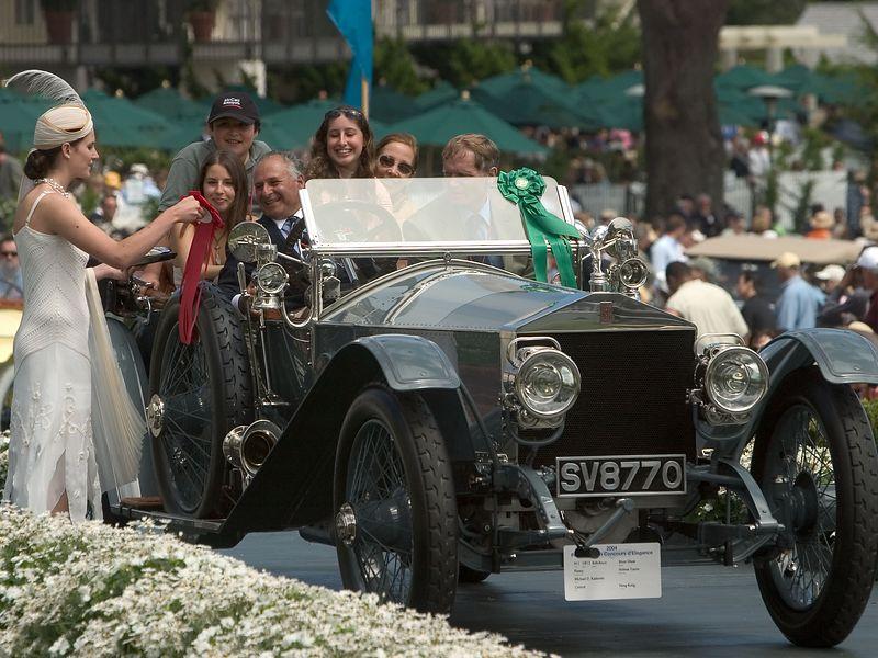 1912 Rolls-Royce Silver Ghost Penny Holmes Tourer. 2nd RR Silver Ghost 1907-15. Michael Kadoorie.