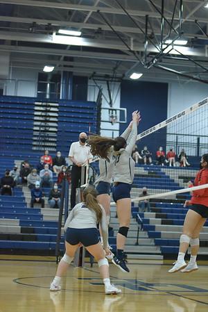 OE Girls Varsity Volleyball Vs Yorkville 2021