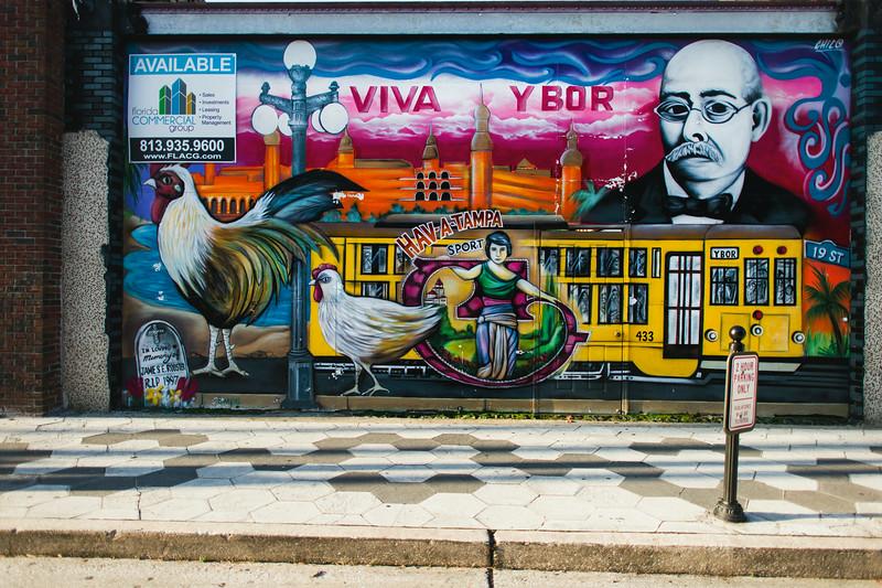 Ybor City Mural