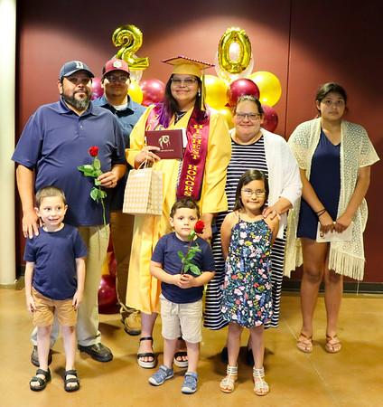 Cherokee High School Graduation Family Photos, May 28