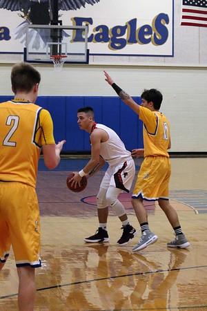 Tenaha vs Evadale Boys' Area Basketball Playoffs