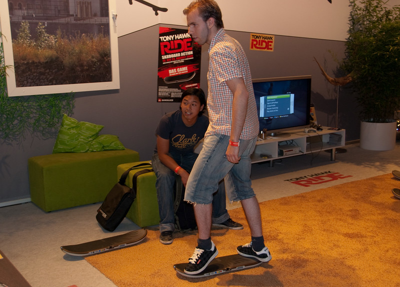 Tony Hawk's RIDE at GamesCom