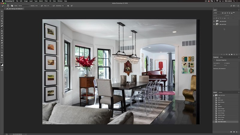 03-22-Dining Room-Photoshop Compositing
