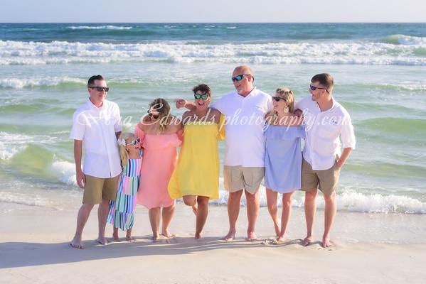The Whiddon family  |  Panama City Beach
