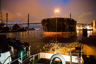 2013 09 10 Massengutfrachter im Hamburger Hafen