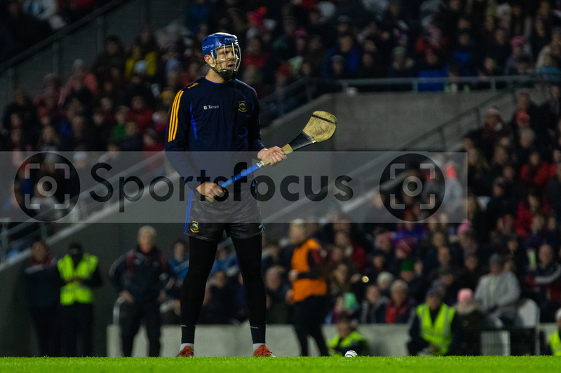 Tipperary goalkeeper Brian Hogan prepares to take a penalty