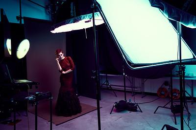 Shooting Dramatic Avant Garde Fashion