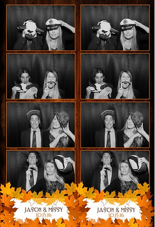 Jason & Missy's Wedding October 15, 2016