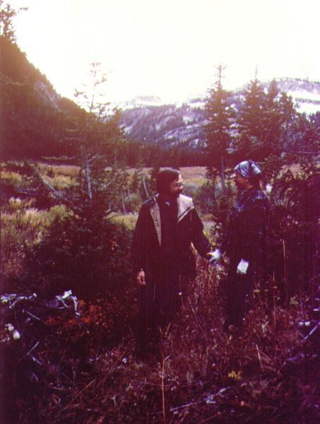 Dave & Connie, Teton Canyon, Fall 1977 .jpg
